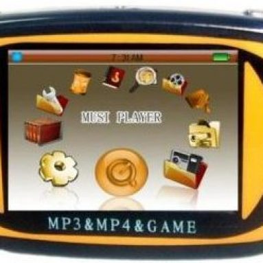 Portable Media Player 2.4″ TFT Display