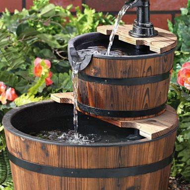 2 – tier Barrel Fountain