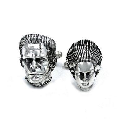 Frankenstein + Bride Cufflinks