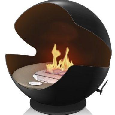 Globe fireplace