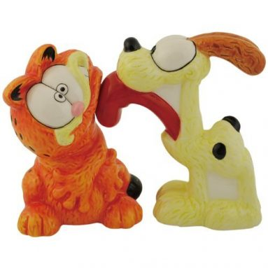 Garfield Magnetic Salt and Pepper Shakers