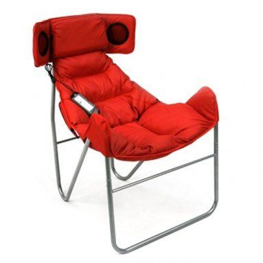 Mac Sports Retro Butterfly Speaker Chair