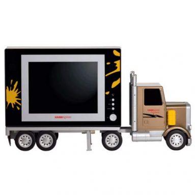 Semitruck LCD Television