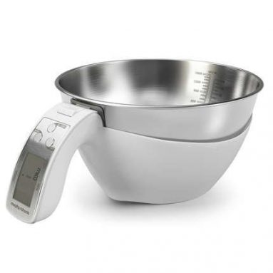 Scale White Quick Click And Lock And Release Bowl