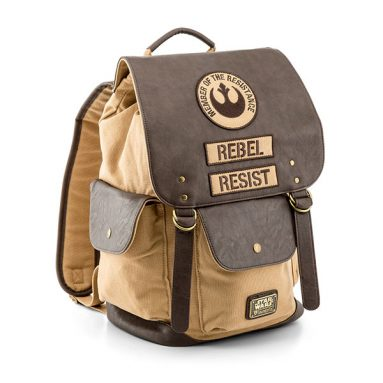 Star Wars Rebel Resist Canvas and Leather Backpack