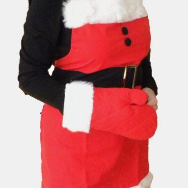 Santa Baby Christmas Apron and Oven Mitt Set