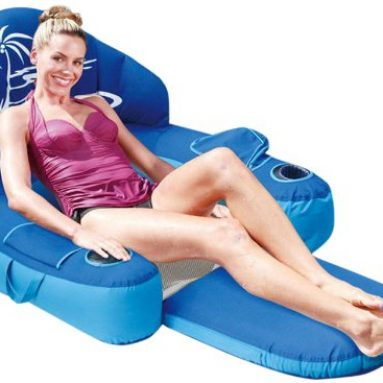 Deluxe Floating Pool Lounger