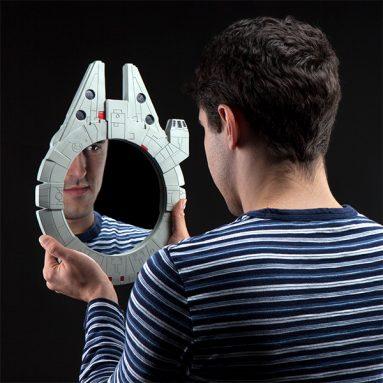 Star Wars Millennium Falcon Wall Mirror