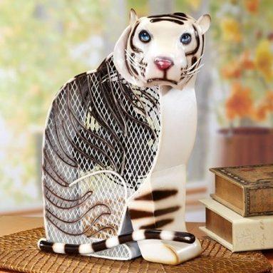 Tiger Figurine 2 Speed Fan