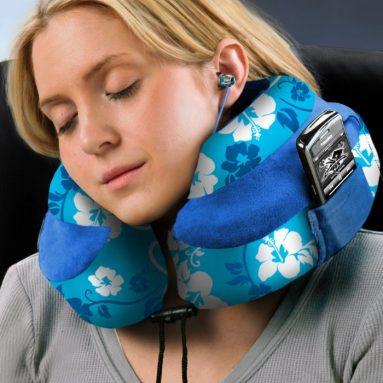 Memory Foam Neck Pillow and Travel Pillow
