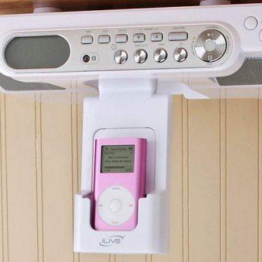 iLIVE Under-cabinet iPod Docking System