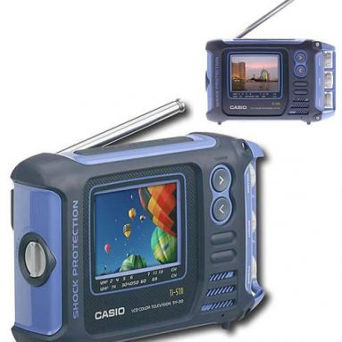 Casio SY30 Shock Resistant Color LCD TV