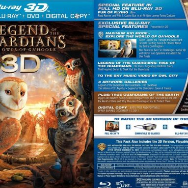 3d blu ray new releases