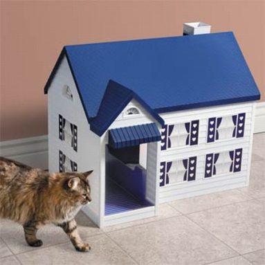 Litter Box House