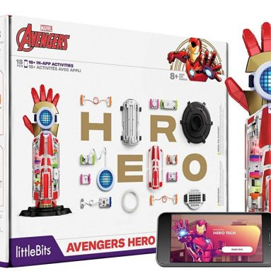 littleBits Avengers Hero Inventor Kit – Kids 8+ Build & Customize Electronic Super Hero Gear