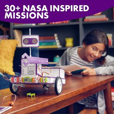 littleBits Space Rover Inventor Kit-Build and Control a Space Rover tech Toy