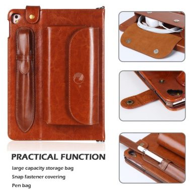Luxurious Genuine Leather Case All-Powerful Cover