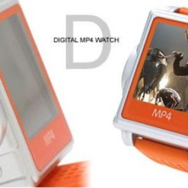 LCD MP4 Wrist Watch
