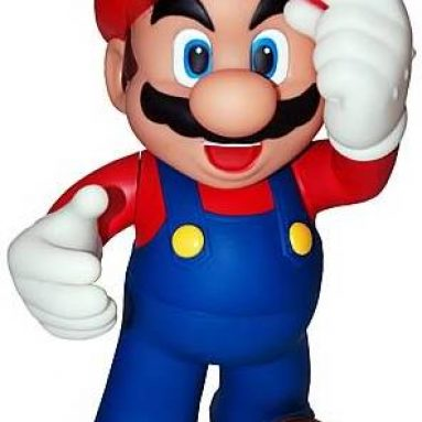Super Mario 12-Inch DS Holder Statue
