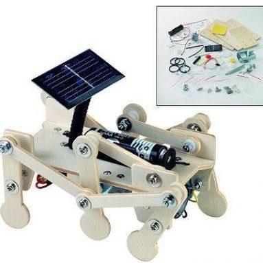 Mars Explorer solar robot kit