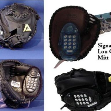 Mini Baseball Mitt Custom Phone