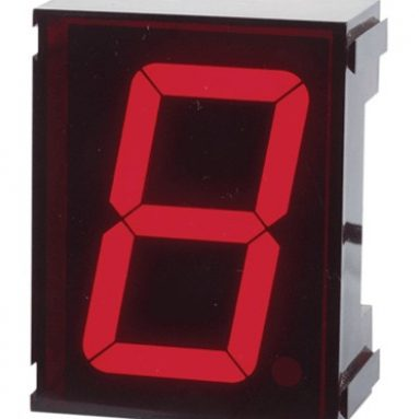 Jumbo Single Digit Clock Kit