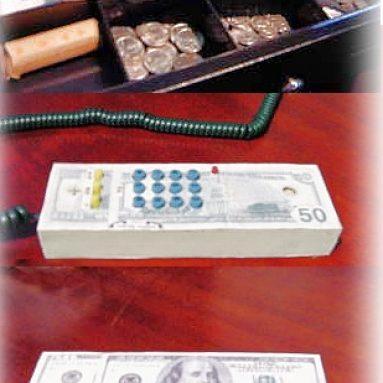Money Custom Telephone