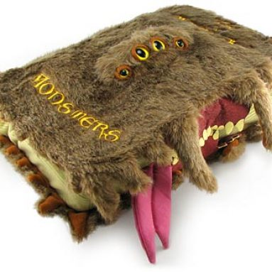 Harry Potter Monster Book of Monsters Plush