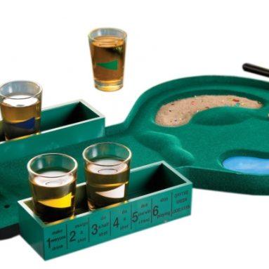 Glass Drinking Game Set