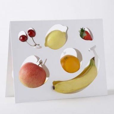 One percent designer fruitbowl