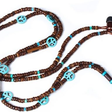 THE PEACE DuneTunes Stereo Headphone Necklace