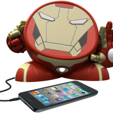 Iron Man Rechargeable Character Speaker