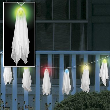 COLOR CHANGING SOLAR GHOST LIGHTS