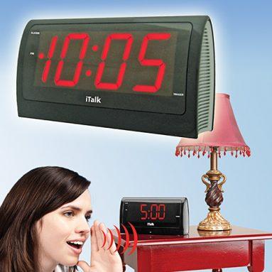iTalk  voice alarm clock
