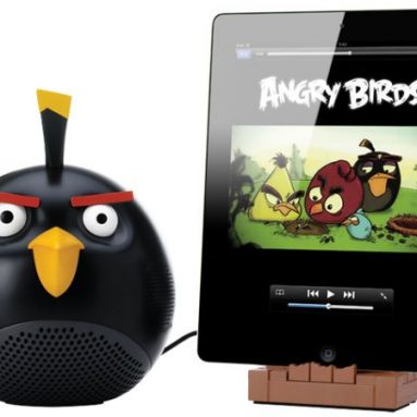 Angry Birds Speaker and Stand