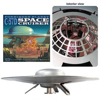 Forbidden Planet C-57D Space Cruiser