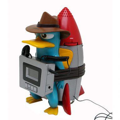 Phineas & Ferb Awake-Inator Alarm Clock Radio