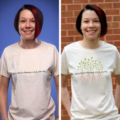 Photosynthesis UV-Sensitive Ladies' Shirt