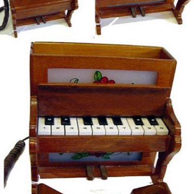 Wooden Piano Telephone