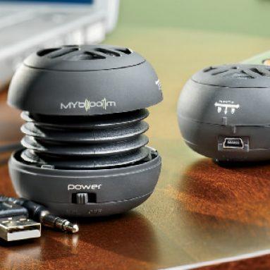 Pocket-Sized MP3 Player Speaker