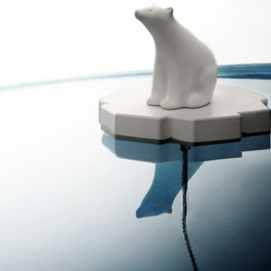 Polar Bear Bath Plug