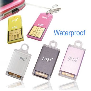 PQI Waterproof USB Flash Drive