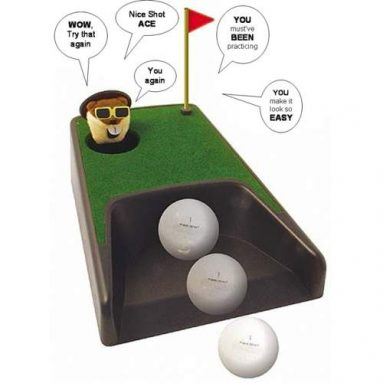 Talking Pop-up Putting Cup