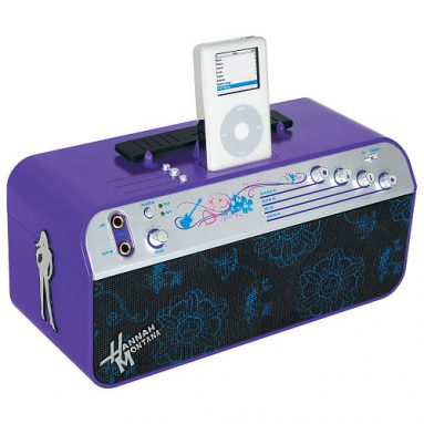 Musical Sing Along Boombox with Apple iPod Dock