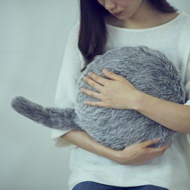 Qoobo Robotic Cat Tail Pillow