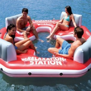 Pacific Paradise Relaxation Lounge 4-Person