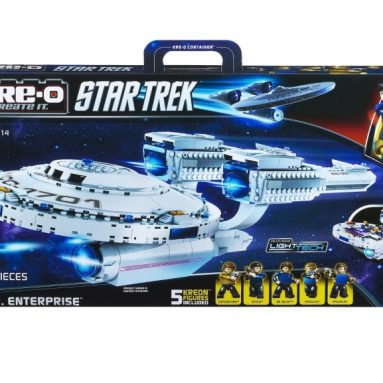 Kre-O Star Trek U.S.S. Enterprise Construction Set