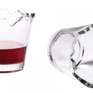 Broken Drinking Glass Set