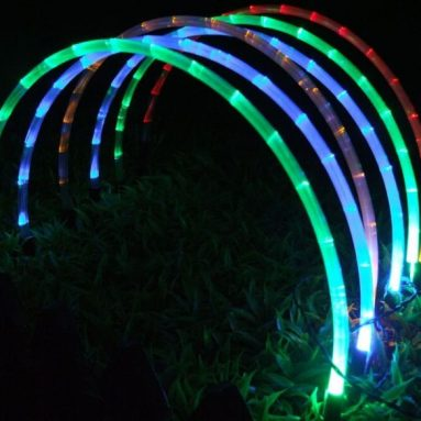 40% discount: Solar Tube Chain Lights. Solid Arch Shape Tube