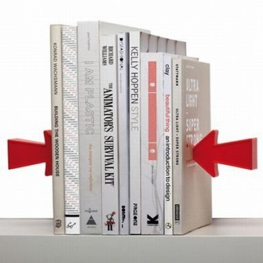 Magnetic Bookends Arrow